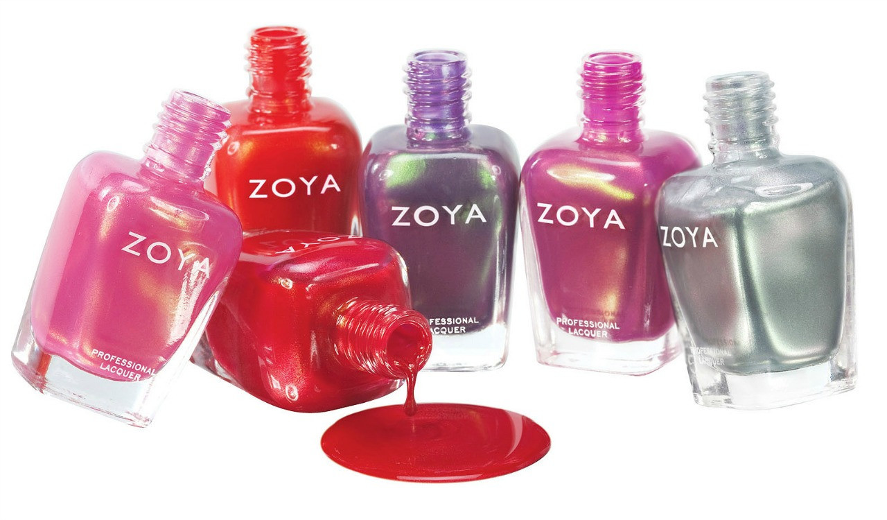 Six free bottles of Zoya Nail Polish (you pay shipping)