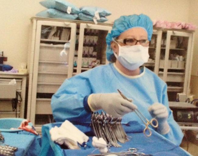 Vaginal surgical prep