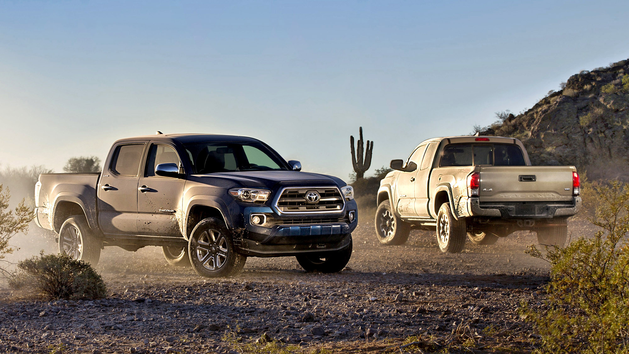 2016 Toyota Tacoma All Grown Up Sort Of Techno Stream