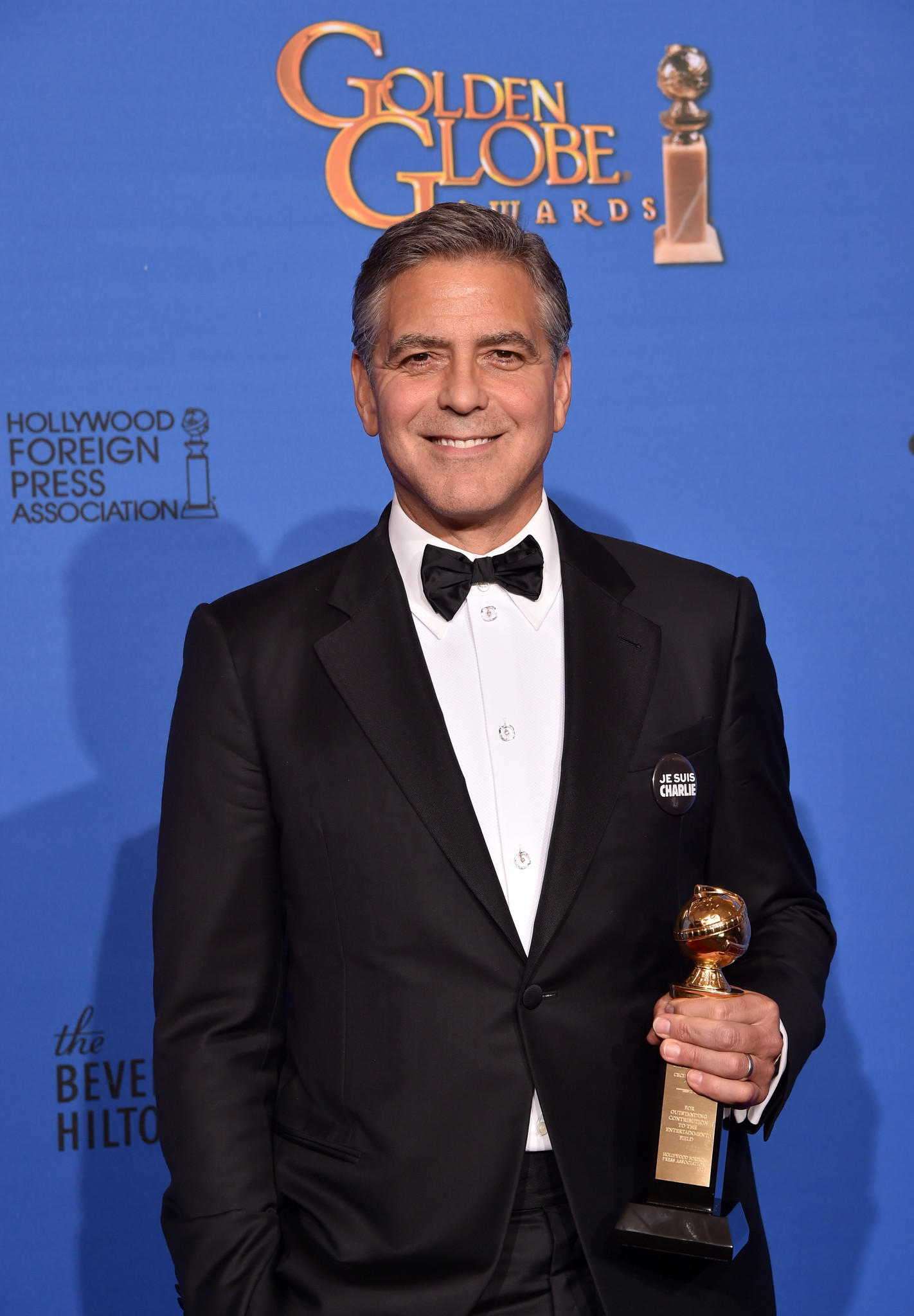 Backstage with george clooney