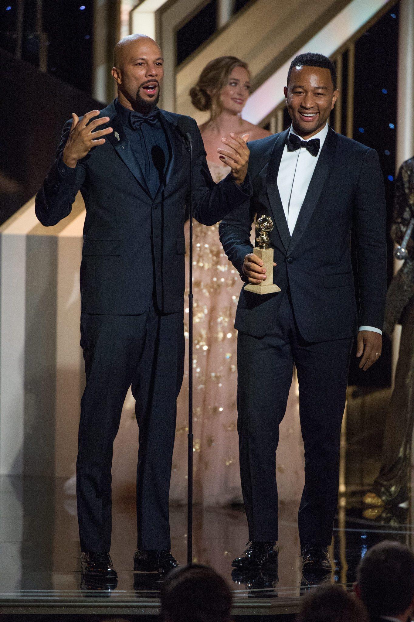 Golden Globes 2015 Rapper Common S Memorable Winning