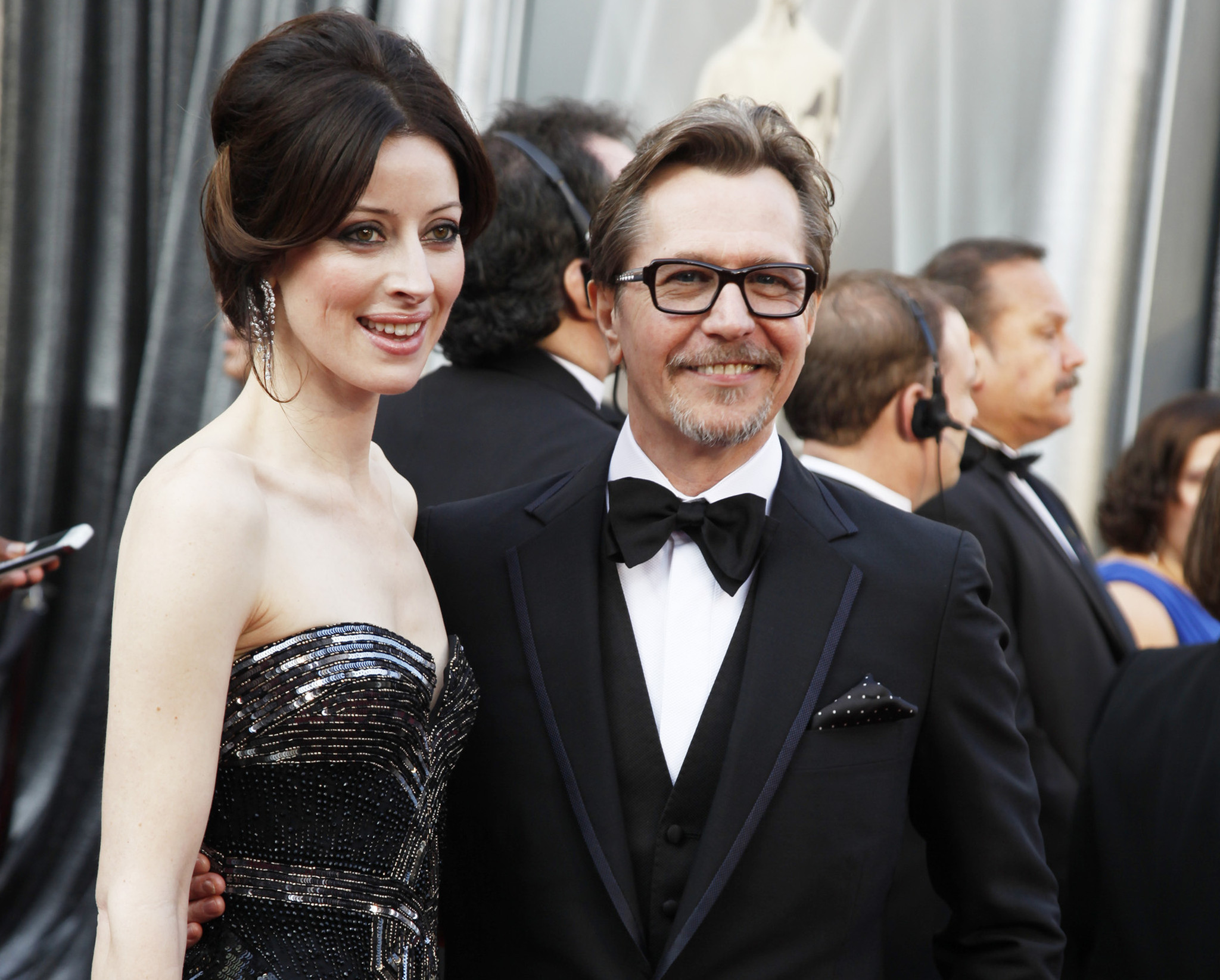 Gary Oldman's fourth wife files for divorce after yearlong separation - LA Times
