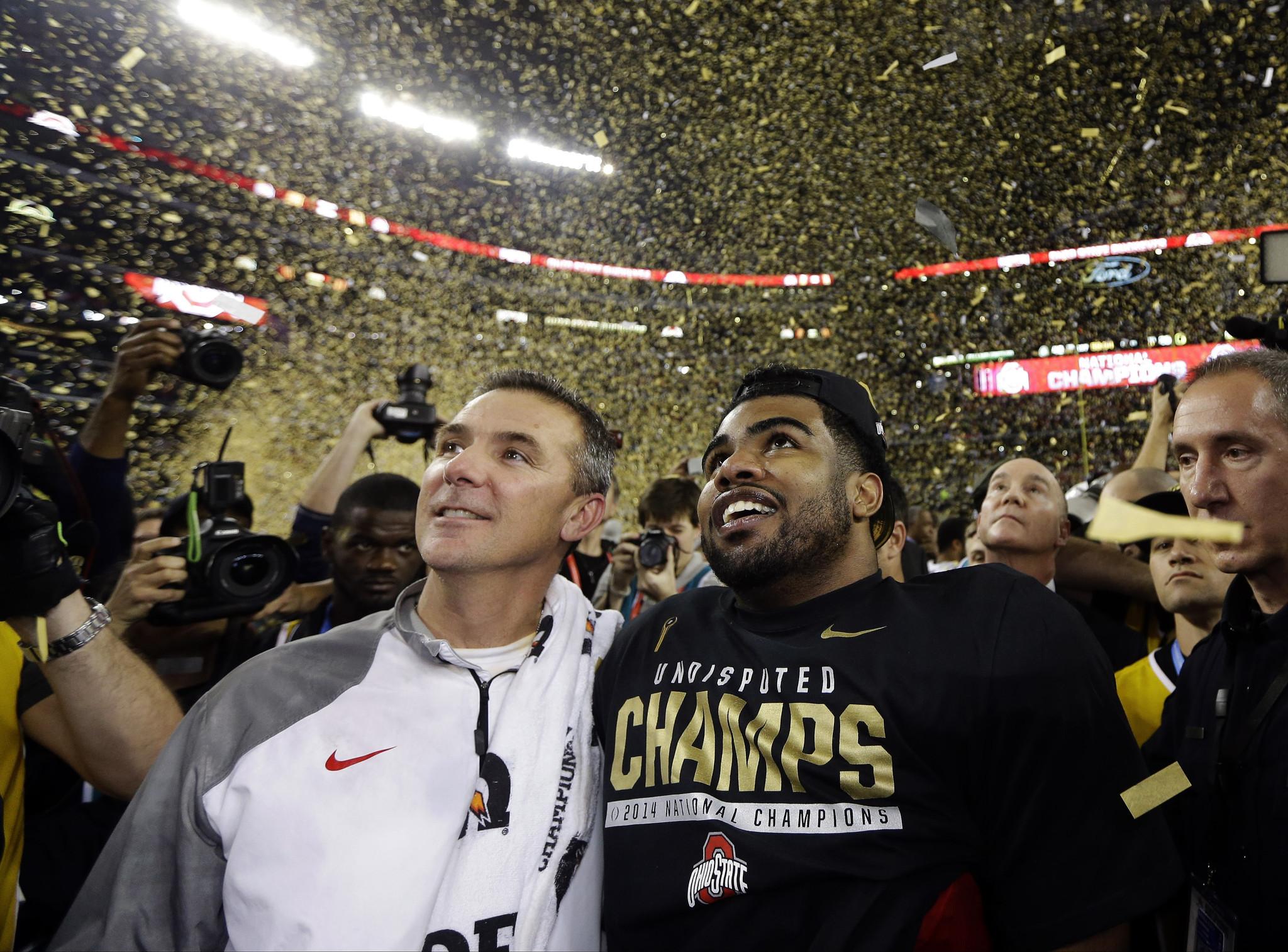 Ezekiel elliott ohio state beat oregon to win national - Ohio State Completes Remarkable Journey With National Championship Chicago Tribune