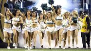 College football cheerleaders 2014