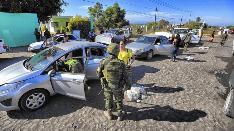 Violence in Michoacan, Mexico