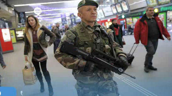 Police official: Arms for Paris attack came from abroad