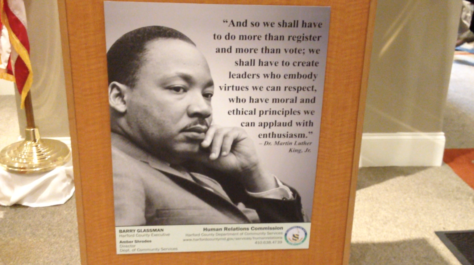 Martin Luther King, and his virtue?