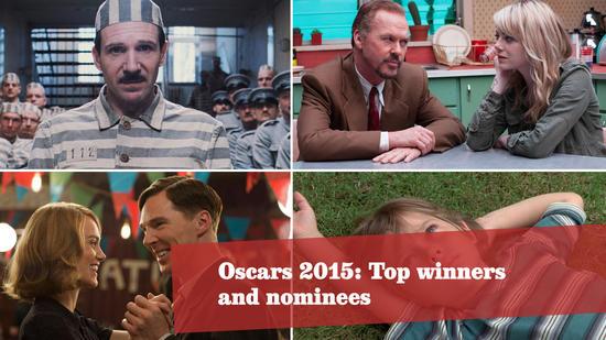 Oscars 2015: Top nominees