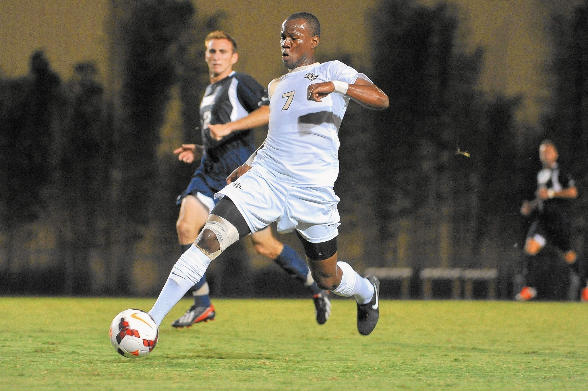 UCF forward Romario Williams selected with No 3 pick of MLS