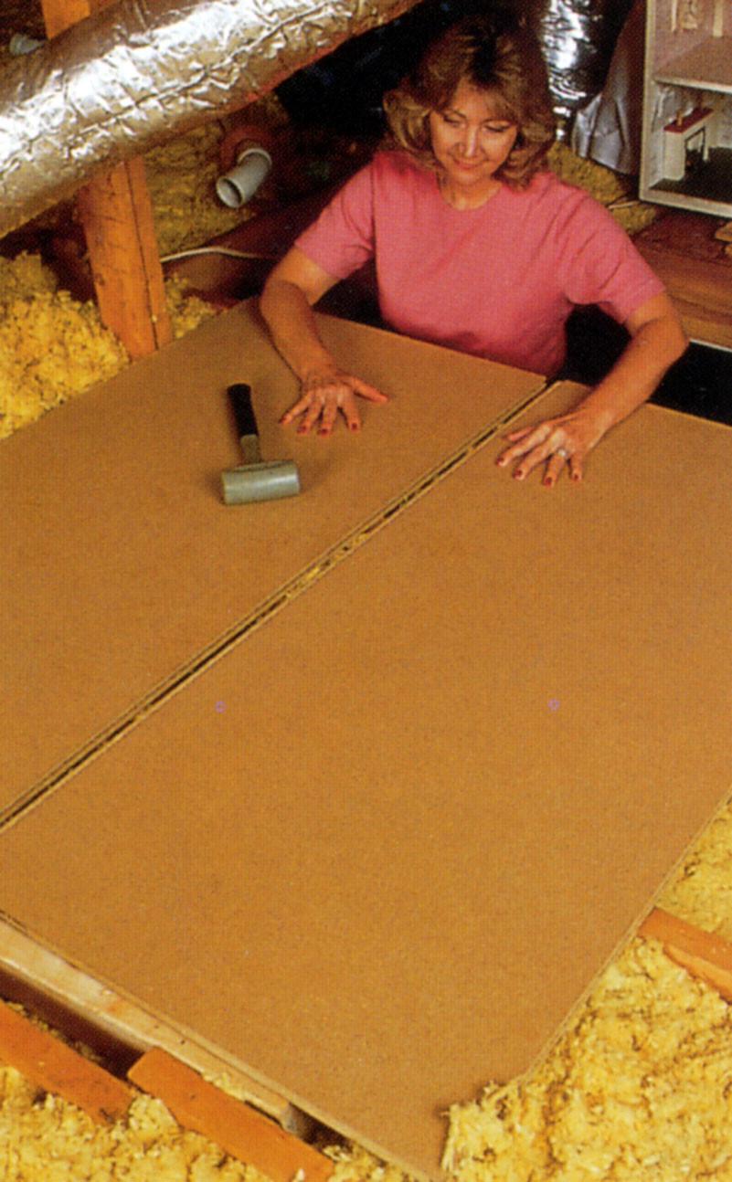 Install an attic floor chicago tribune solutioingenieria Choice Image