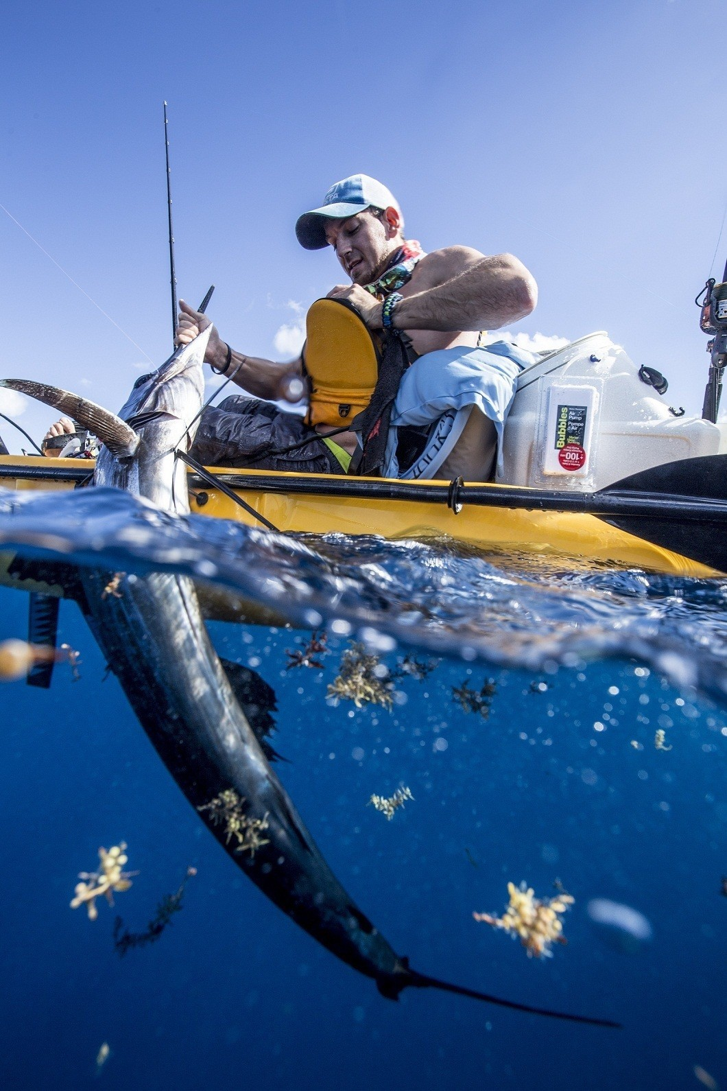 Offshore kayak fishing newcomer wins extreme kayak fishing for Offshore kayak fishing