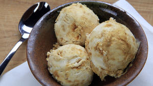 Rustic Canyon's honeycomb ice cream