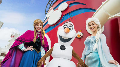 'Frozen' takeovers coming to Disney Cruise Line