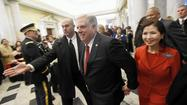 Residents at inauguration optimistic about Hogan's promise