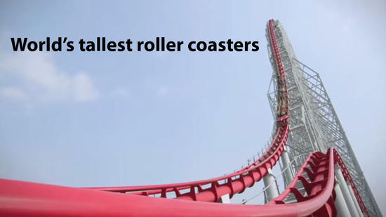 World's tallest roller coasters