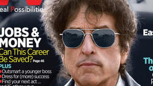 Surprisingly candid Bob Dylan, AARP magazine cover boy