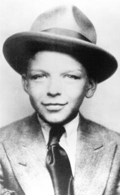 Frank Sinatra in 1922.