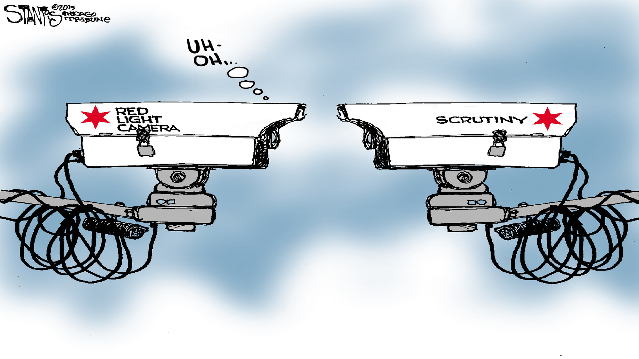Chicagou0027s Red Light Cameras A Hot Issue In Mayoral, Aldermanic Campaigns    Chicago Tribune Gallery