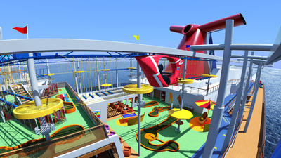 IMAX, elevated bike ride coming to new Carnival Vista