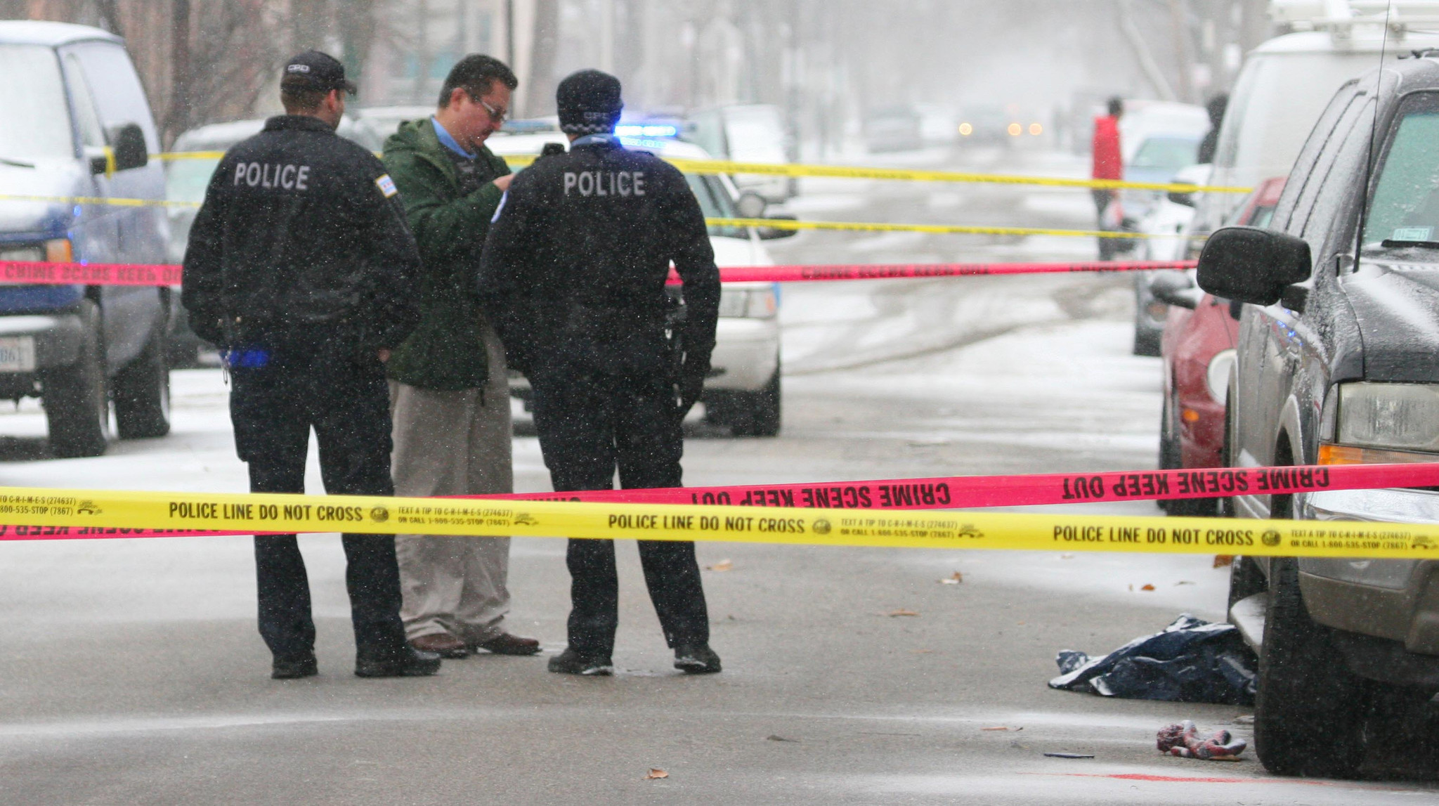 3 men, boy wounded in city shootings