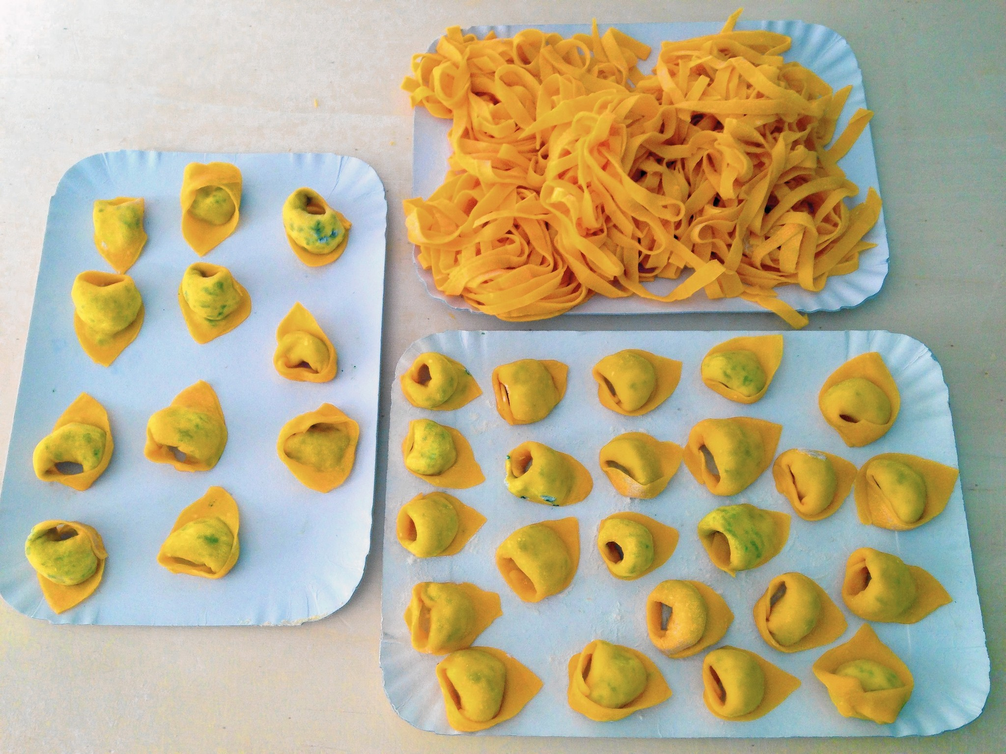 Italian cooks take visitors into their homes to show them the pasta ropes