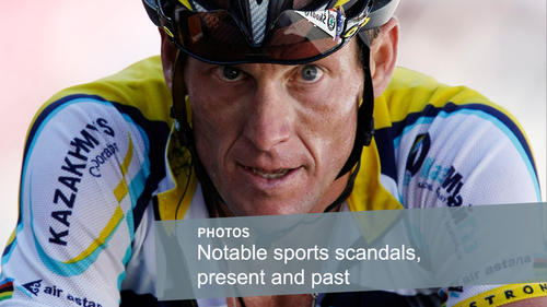"""Lance Armstrong, considered by many to be the greatest professional cyclist, <a href=""""http://articles.latimes.com/2013/jan/17/entertainment/la-et-st-lance-armstrong-oprah-winfrey-interview-20130117"""" target=""""new"""">admits in an interview</a> with Oprah Winfrey that he did cheat by doping despite years of vehemently denying the charges."""