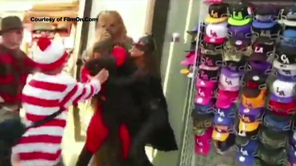 Mr. Incredible convicted in Hollywood Boulevard brawl with Batgirl