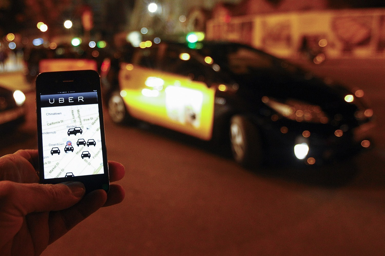 Ride-hailing services may reduce drunk driving, Uber-MADD report says