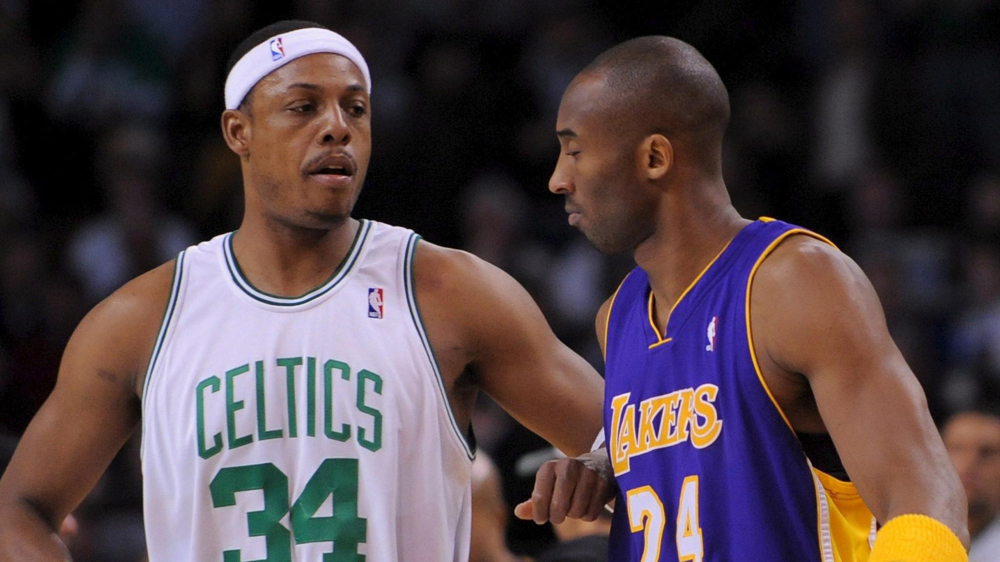 Paul Pierce says Kobe Bryant's season-ending injury 'saddens me'