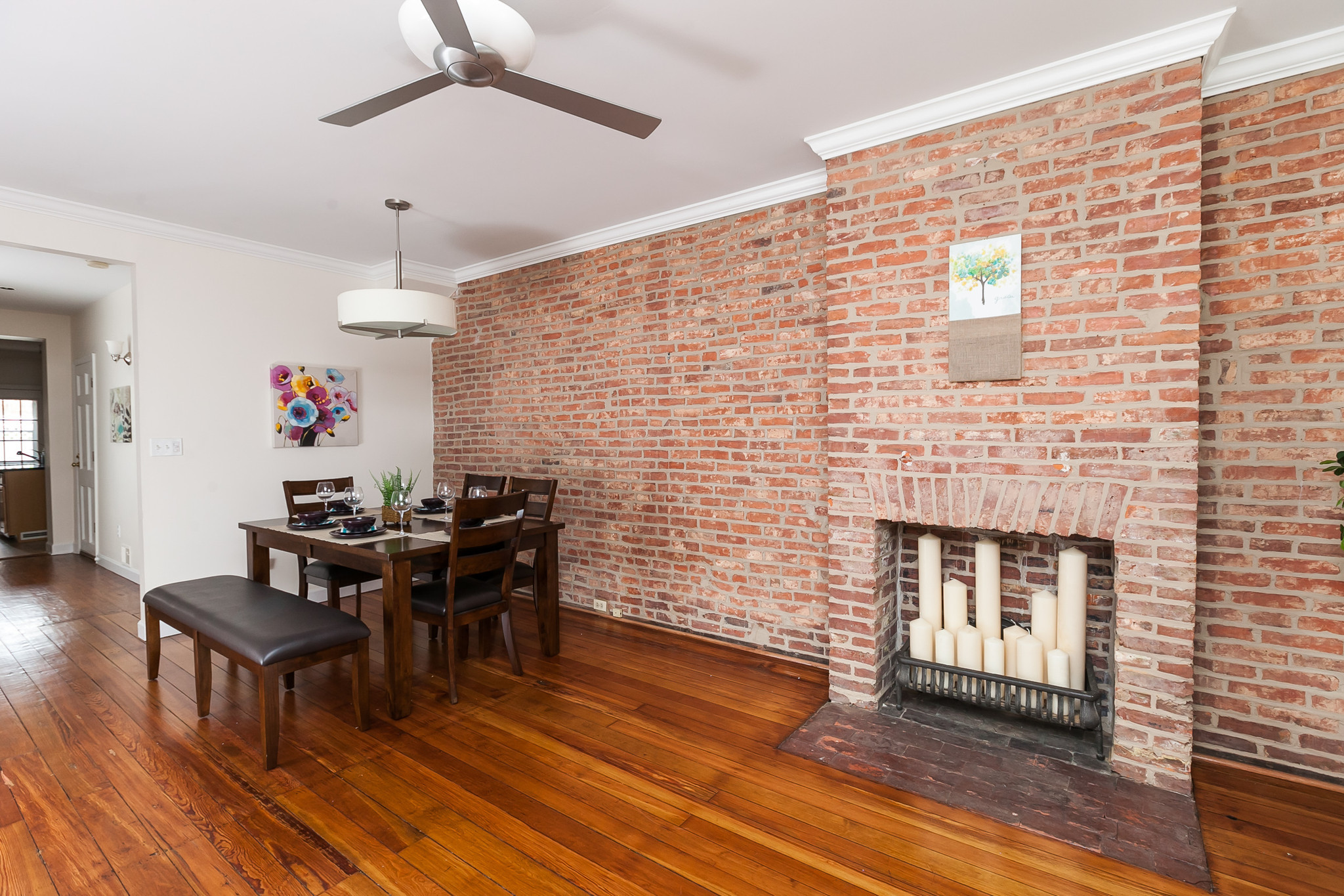 Exposed Brick Wall What You Need To Know About Exposing Brick Baltimore Sun