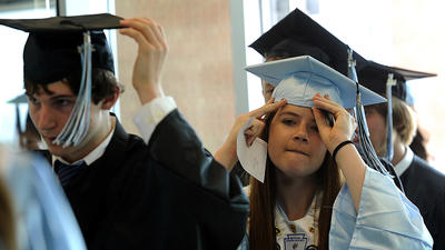 Carroll leads state in graduation rates