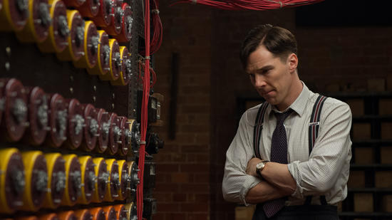 "Benedict Cumberbatch in ""The Imitation Game"""