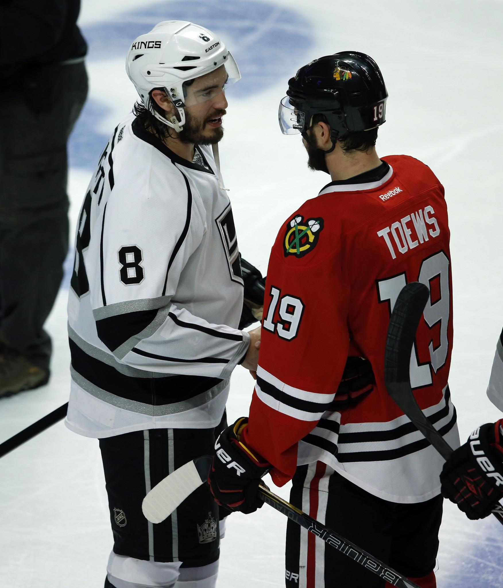 Blackhawks and Kings form mutual admiration society