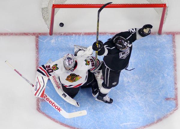 Frustration follows Blackhawks' 4-3 loss to Kings