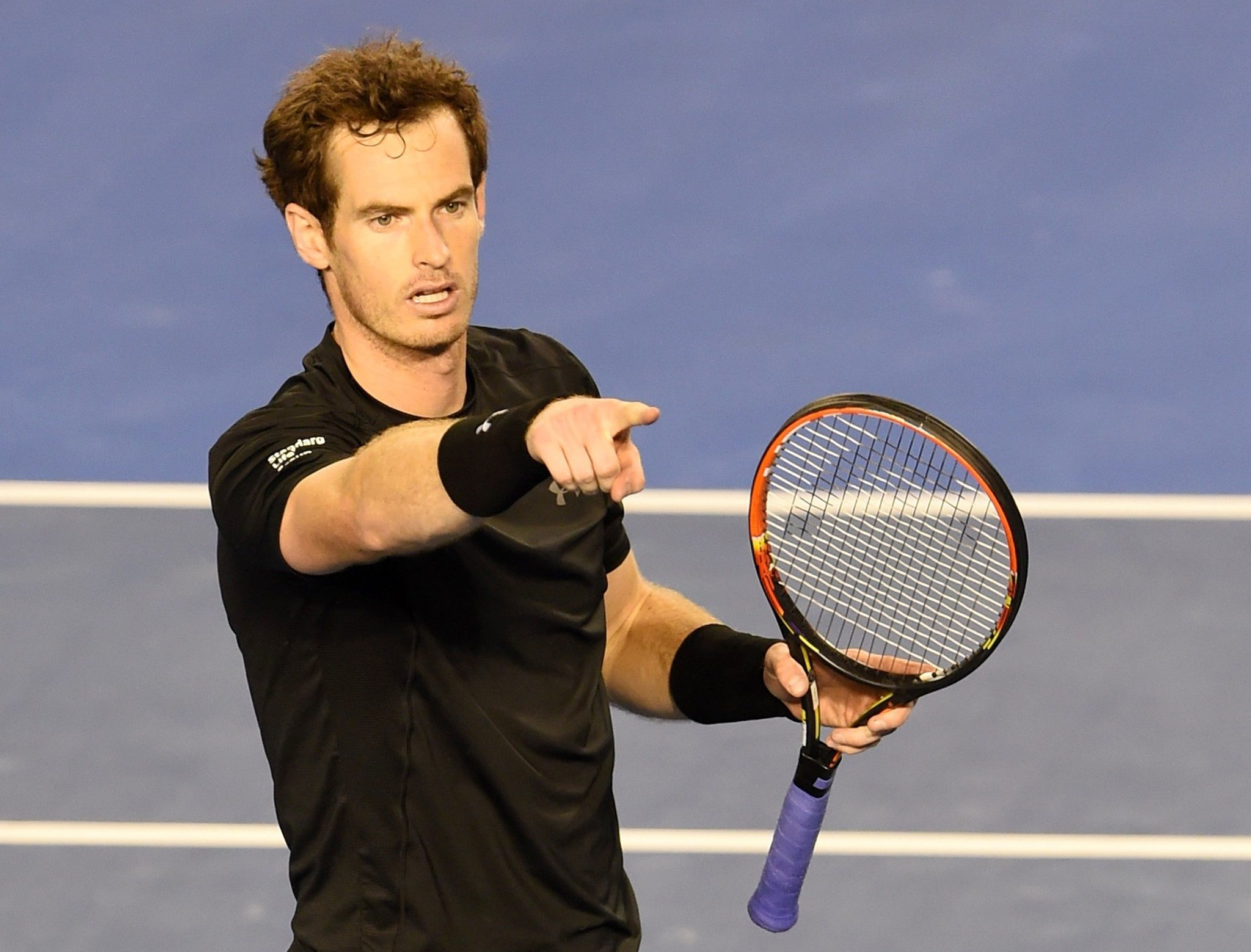 Tension, trash-talking spice Andy Murray's semifinal win at Australian Open