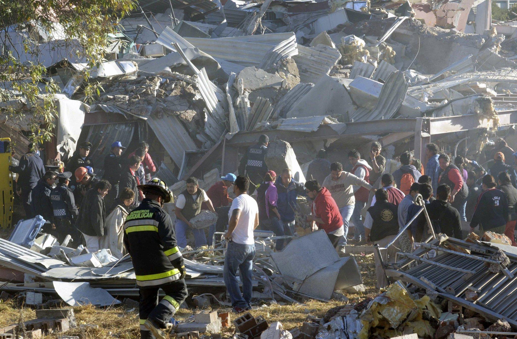 Mexico hospital blast leaves at least 2 dead, dozens hurt