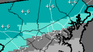 Damaging wind gusts possible Friday; snow forecast Sunday