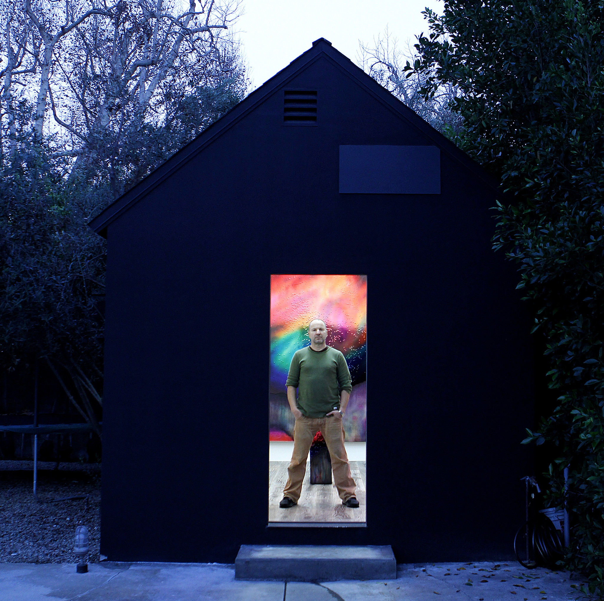 An art gallery in Los Angeles modeled on the Unabomber ...