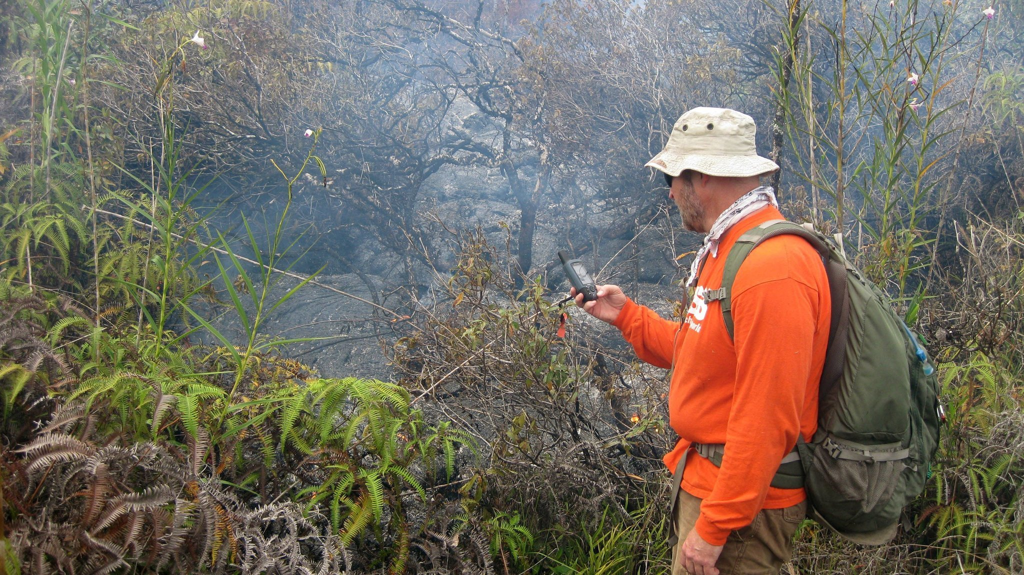 On the Big Island, volcanic activity could worsen respiratory problems