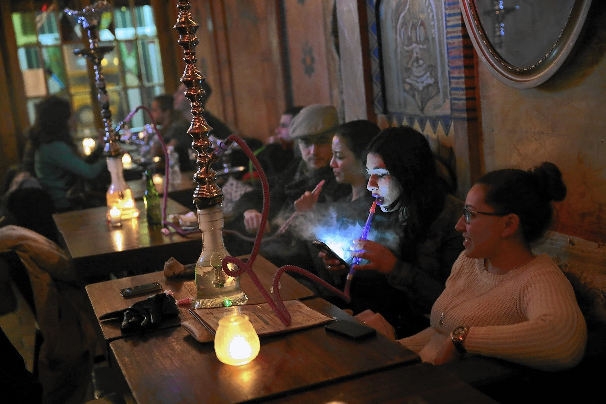 New York crackdown on hookah bars generates some blowback