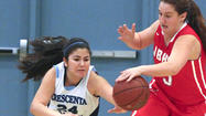 Photo Gallery: Burroughs vs. Crescenta Valley Pacific League girls basketball