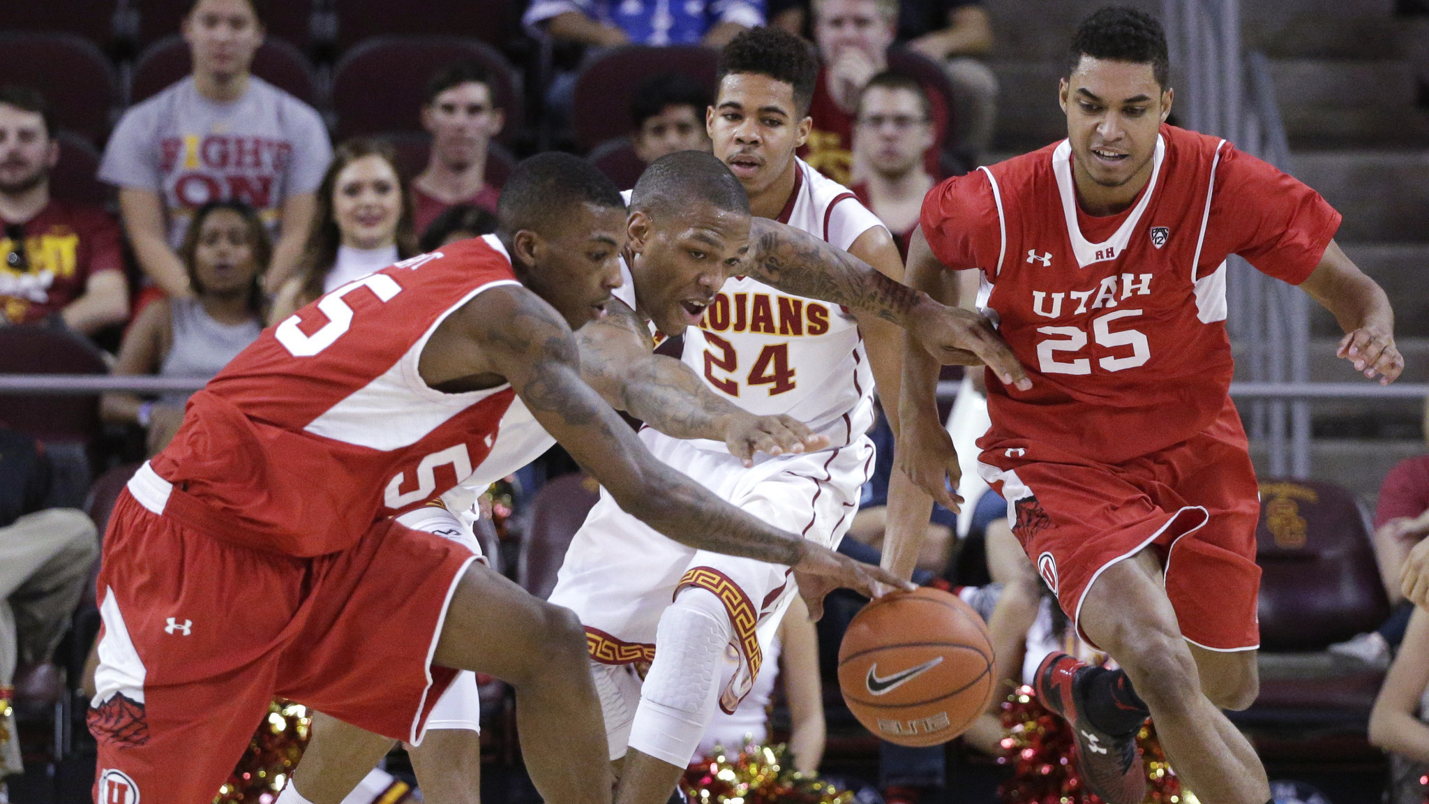 USC is blown out by No. 11 Utah, 67-39