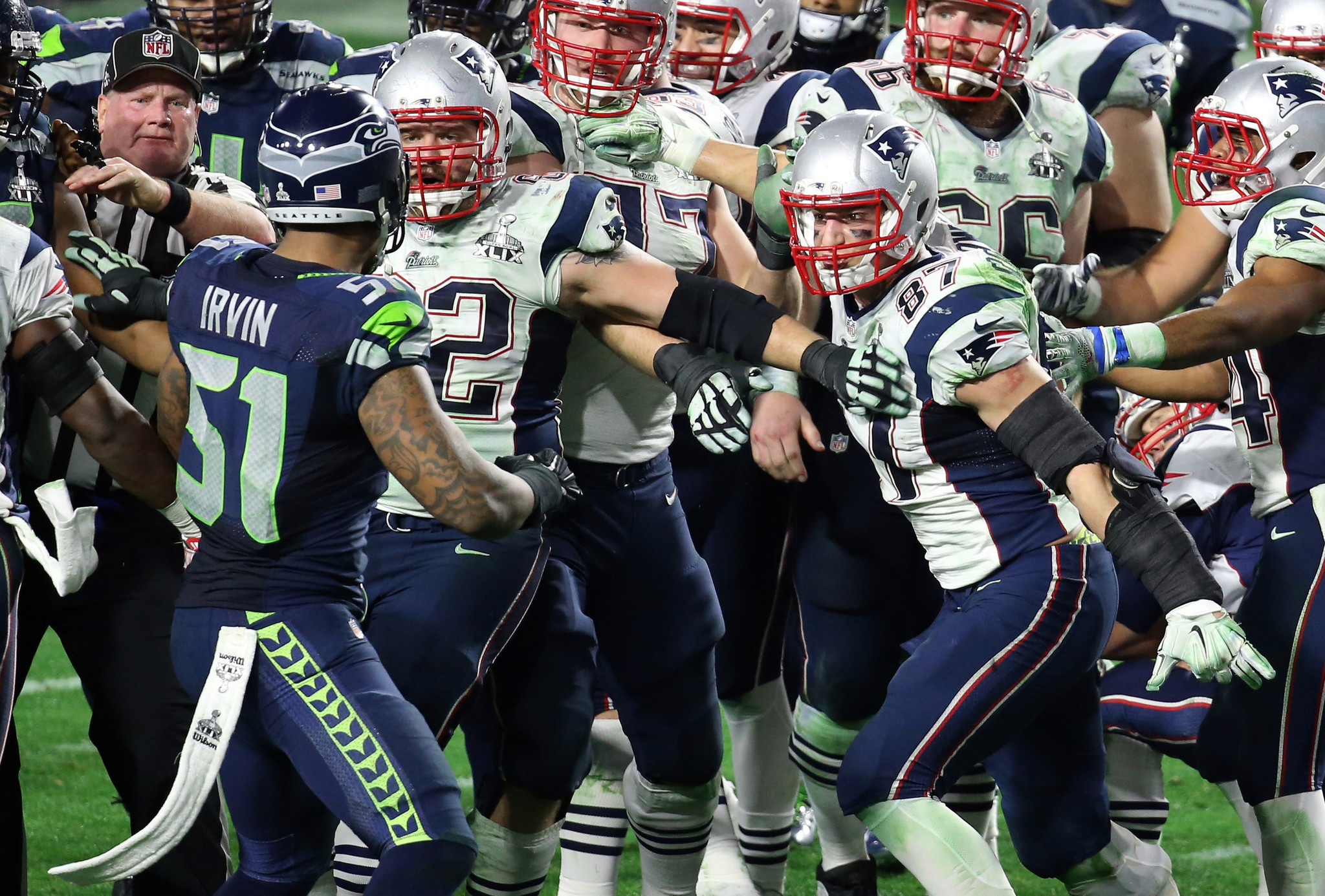 Super Bowl notes Seahawks Bruce Irvin ejected at end of game