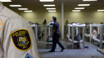February 2015: Cook County jail on lockdown because of staffing shortages