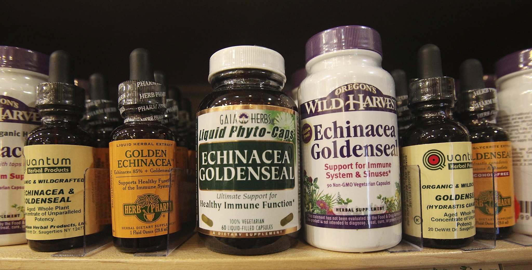 Study: Many herbal supplements aren't what the label says ...