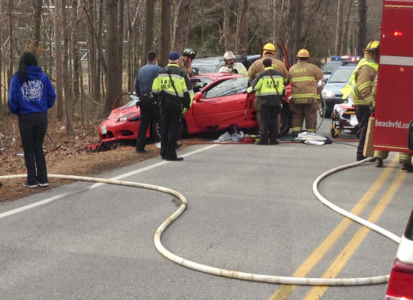 Three Injured In Glen Burnie Crash