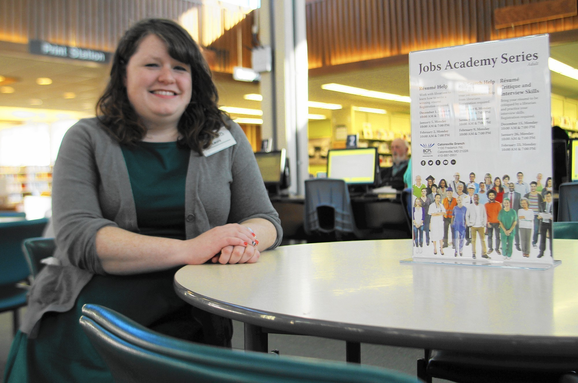 catonsville public library offers new job help program baltimore sun
