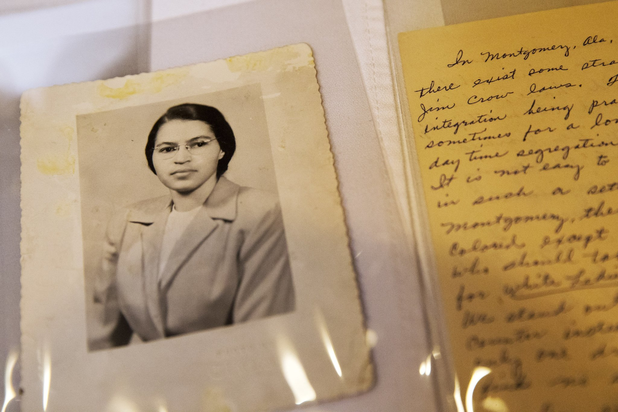 rosa parks took a stand for her rights and freedom Follow the accomplishments of civil rights activist rosa parks, and learn how her refusal to give up far as i could stand to the rosa l parks freedom.