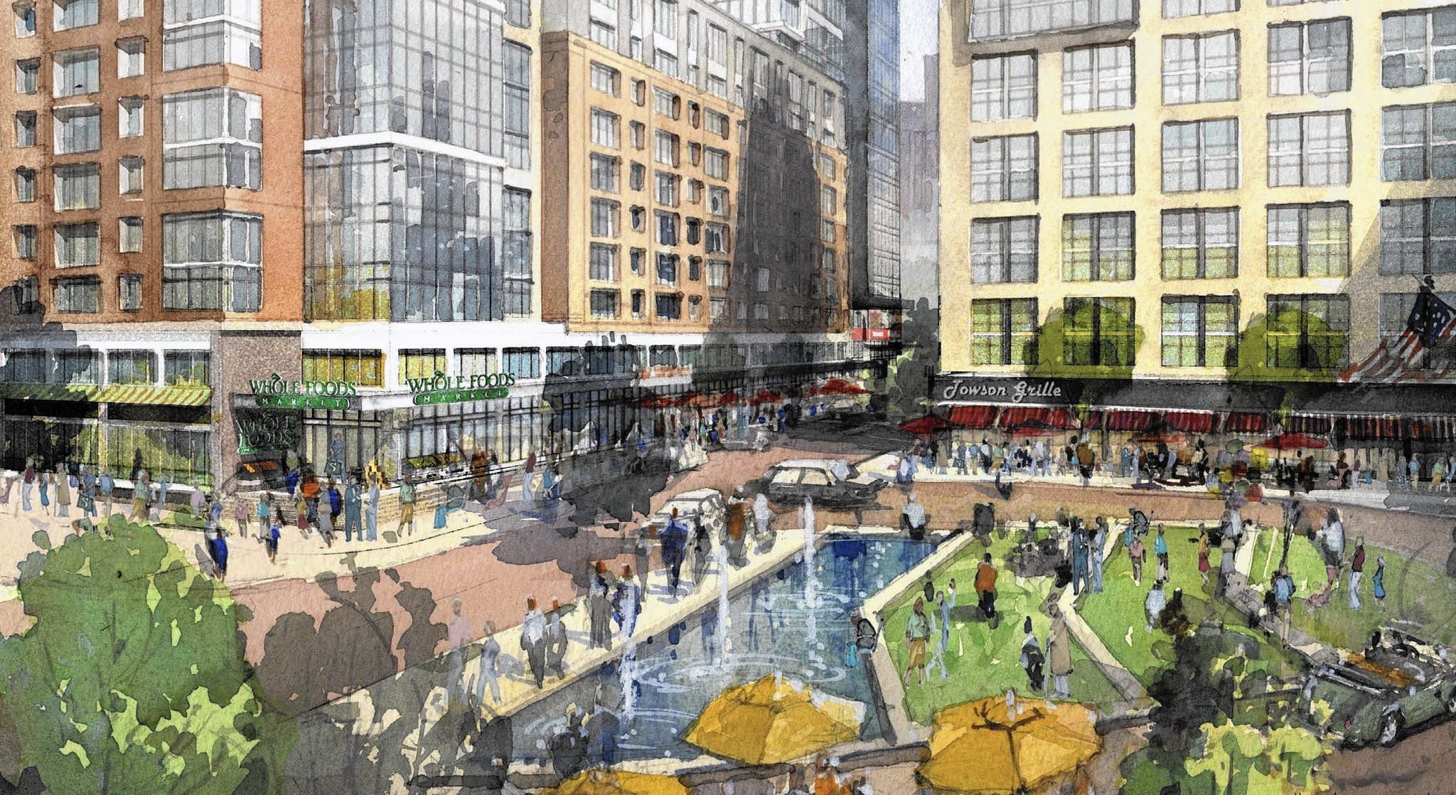 The New Towson Emerging cosmopolitan hub or chaotic patchwork of