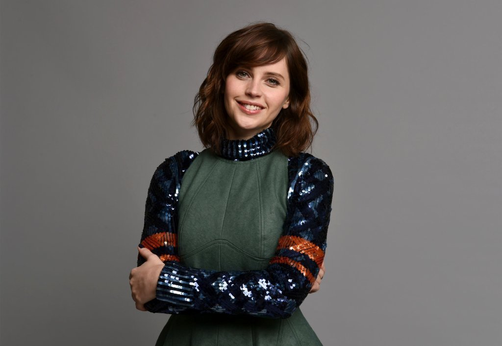 Felicity Jones cast as lead in 'Star Wars' spinoff